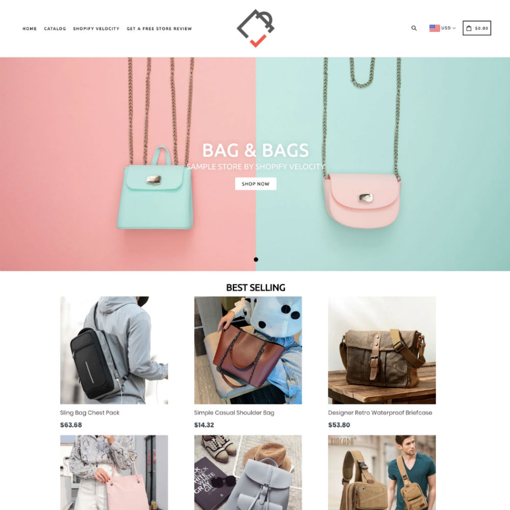 Sample Shopify Store