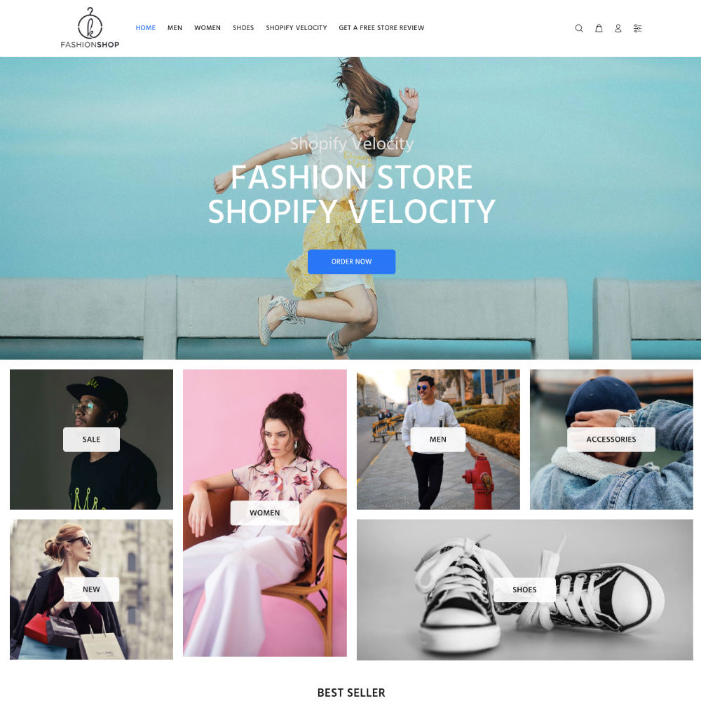Shopify Velocity Sample Store